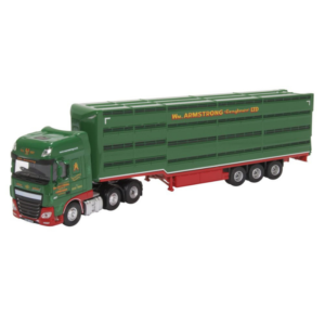 DAF XF William Armstrong Livestock Trailer