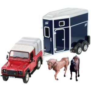 Land Rover Horse Set