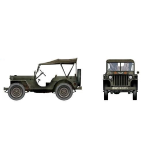 US Willys Jeep 39R Wing 400 Sqn. RCAF