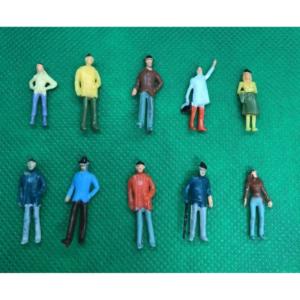 Model Railway Mixed Painted Figures