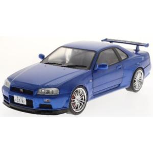 Nissan R34 GTR Bayside Blue 1999