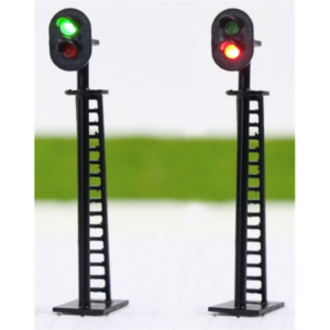 Gauge 2 Aspect Signal Pairs Red/Green