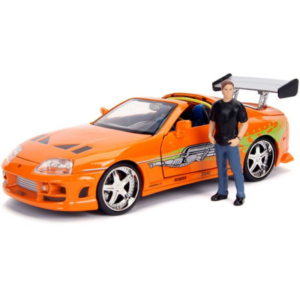 Toyota Supra Kit with Brian O'Conner Figure