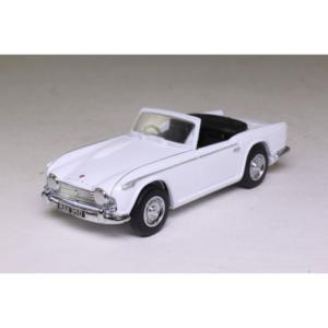 1965 Triumph TR4-IRS; Open Top, White