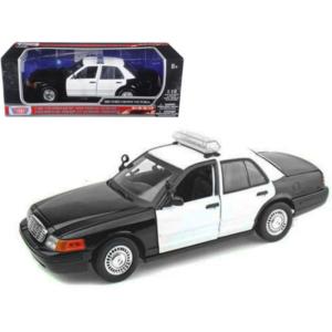 Ford Crown Victoria 2007 Black/White Police Interceptor